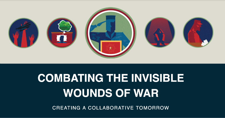 With effective care, the invisible wounds of war – including post-traumatic stress and traumatic brain injury - can be overcome. The Bush Institute recently released recommendations to help increase the number of veterans in effective care, improve the delivery of high quality care, advocate for research that leads to more effective treatment, and decrease the stigma of invisible wounds.
